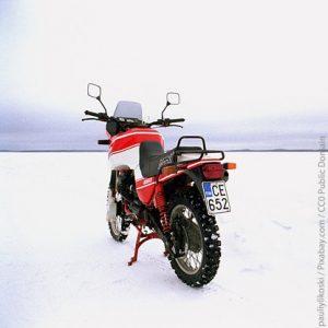 motorrijden bij koud weer