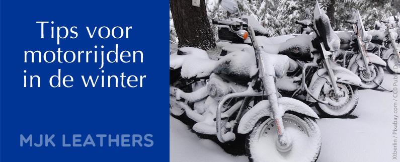 Tips motorrijden winter