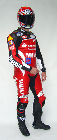 leren raceoverall front Ron Somers