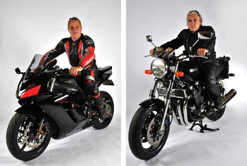 Fotoshoot met je motor op de foto bij MJK Leathers
